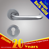304 stainless steel U-shaped handle for Moderm interior doors South American special engineer style