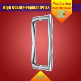 304 stainless steel solid glass pull handle supplied by Chinese factory to Europe