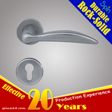 Moderm wood door stainless steel solid casting lever door handle for interior doors lock