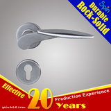 Moderm civil Fission anti-theft door lock of SUS304 stainless steel solid cast lever door handle