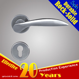 SUS304 European Fission door locks Series stainless steel solid casting lever door handle