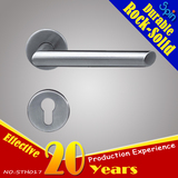 One of the most popular L-shape stainless steel door handle Indoor room lock style in Southeast Asia