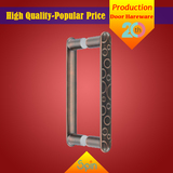 304 stainless steel solid glass pull handle supplied by Chinese factory to Saudi Arabia