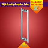 Chinese supplier provides high quality stainless steel double handle glass door handle