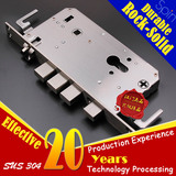 5572 Stainless steel anti-theft door Mortise lock body,5572 不锈钢防盗门锁体