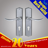 A well-known Malaysian real estate developer specifies the door lock door handle with plate style