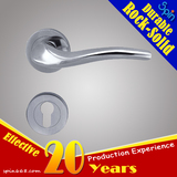 Door ironmongery SUS304 Anti-theft door locks Series stainless steel solid casting lever door handle