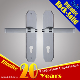 Chinese supplier provides multifunctional easy installation 304 stainless steel door handle with pan