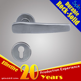 SUS304 stainless steel solid casting lever door handle for interior doors room lock/ Hardware door
