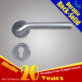 Corrosion-resistant 304 stainless steel tubular door handle for stainless steel security door