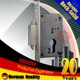 40mm stainless steel double hook square lock tongue Mortise lock body