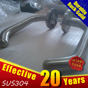 NEW!!! SUS304stainless steel tube The new three bending handle lever door handle