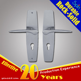 Chinese home door stainless steel anti-theft lock handle plate style is popular in Southeast Asia
