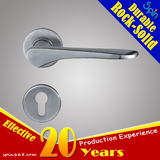 ANSI SUS304/316 Moderm wood door handle lock set/Stainless steel solid cast lever door handle