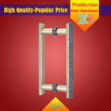 304 stainless steel solid glass pull handle supplied by Chinese factory to middle East