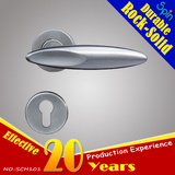 Door ironmongery locks accessories conform En1906 stainless steel solid casting lever door handle