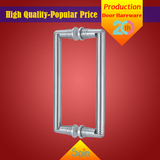 304 stainless steel solid glass pull handle supplied by Chinese factory to Asia