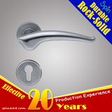 Moderm SUS304 stainless steel solid casting lever door handle for interior doors room lock
