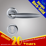 Moderm wood indoor handle electronic lock set/Stainless steel solid cast lever door handle