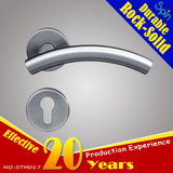 Factory price for tube lever handle door handle, Semi-curved curve. It is a cold character