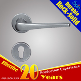 304Stainless steel cast lever door handle for interior doors room lock.Suitable for Fission lock