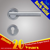 Door hardware for 304stainless steel solid cast lever door handle for interior door room lock
