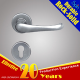 Classic European security door room door lock stainless steel precision solid door handle