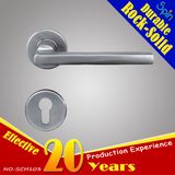 Classic European style hotel of 304stainless steel cast lever door handle for interior door room