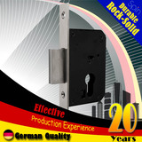 40mm Stainless steel square lock tongue Mortise lock body(stay locked)