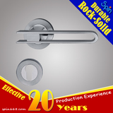ANSI 304 Stainless steel solid cast entrance lever door handle for European interior doors room lock