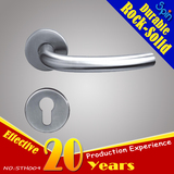 Chinese supplier manufactures European standard 304 stainless steel tubular popular door handle
