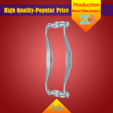 304 stainless steel solid glass pull handle supplied by Chinese factory to Brazil